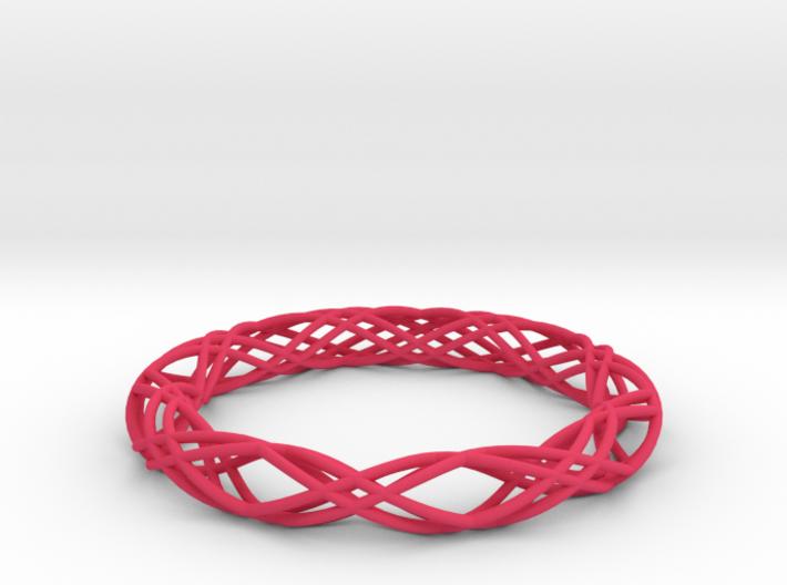 Twist Bangle C04M 3d printed