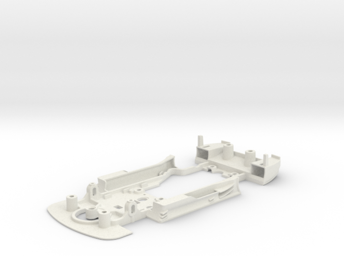 S03-ST2 Chassis for Carrera Merc. DTM STD/STD 3d printed