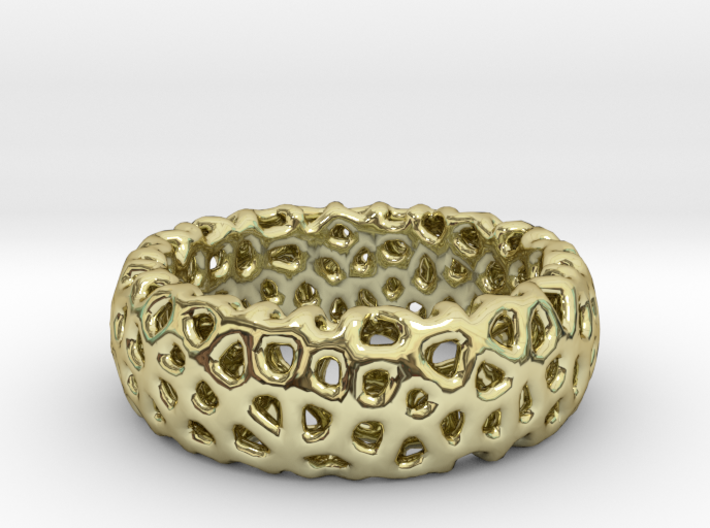 Cellur Ring Size 4 3d printed