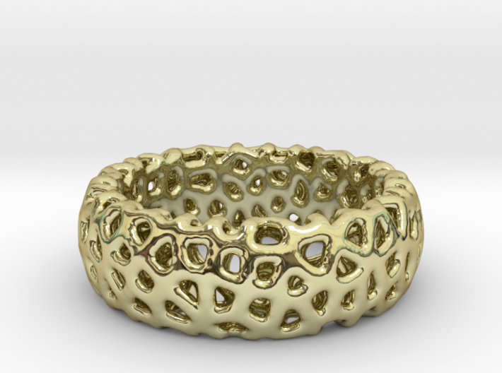 Cellular Ring Size 9 3d printed