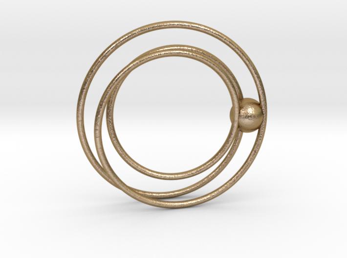 Cydonia pendant 3d printed