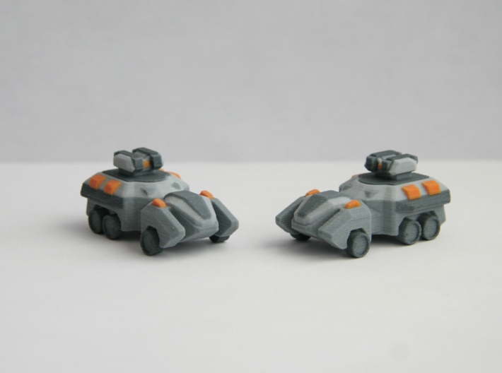 """""""Vakone"""" APC 10mm (Available in color!) 3d printed Product only comes with 1 vehicle."""