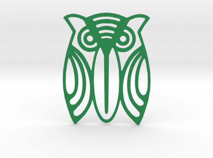 "Paper clip / bookmark ""Owl"" 3d printed"