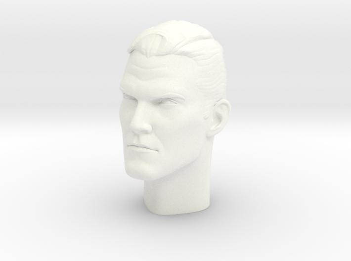 1:6 Scale Dr. Fate Head 3d printed