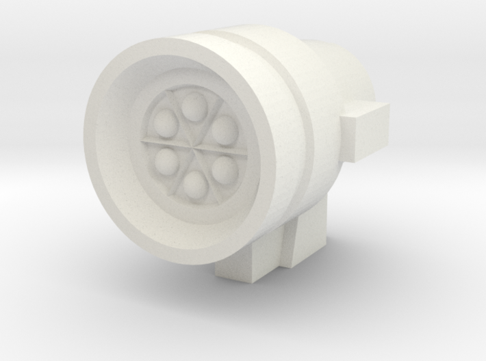 Missile Pod - Small Round 3d printed