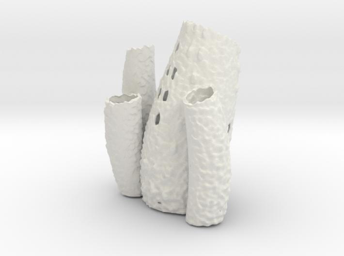 Porifera Vase / Holder - Large 3d printed