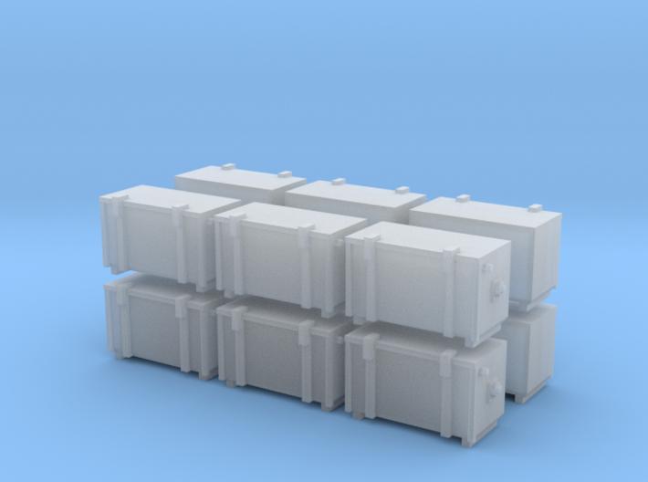 PRR and Conrail Cab Signal Box (N - 1:160) 12X 3d printed