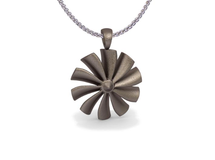 Turbine pendant (cm 2,6) 3d printed