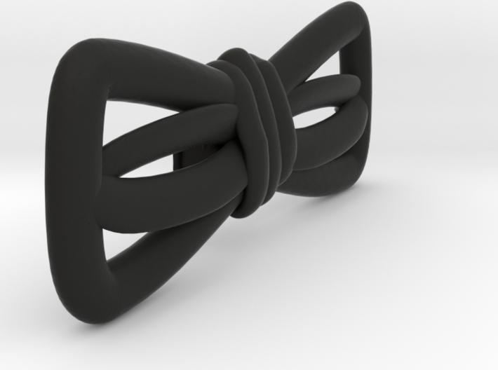Hand sketched bow-tie 3d printed