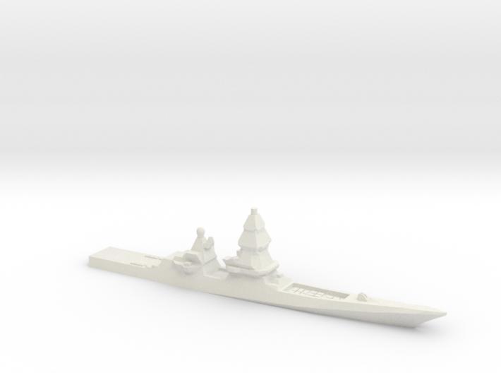 Project 23560E Shkval Destroyer, 1/3000 3d printed