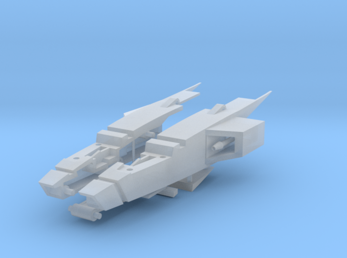 Generations Skyfire G1 Cockpit v2 3d printed