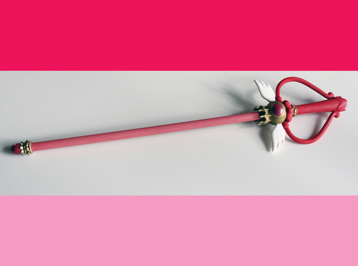Sailor Moon Kaleidoscope Wand for cosplay 3d printed