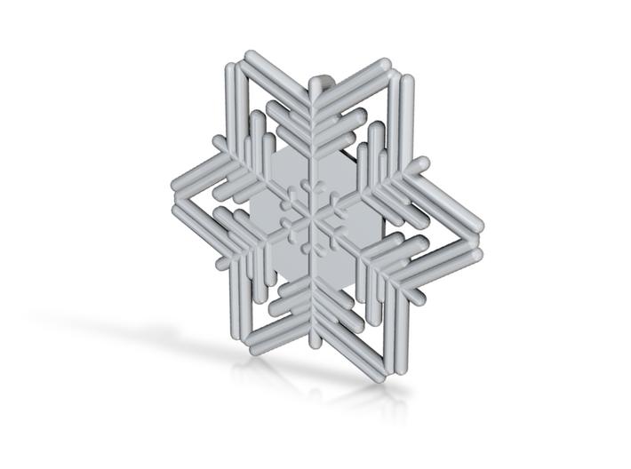 Snowflakes Series III: No. 5 3d printed