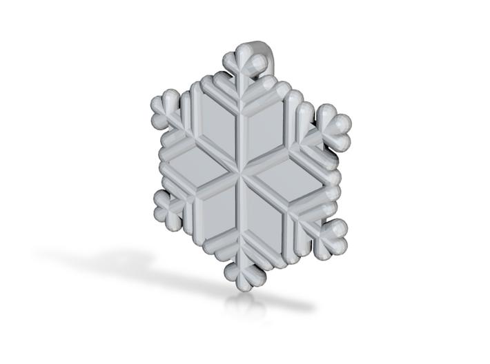Snowflakes Series III: No. 20 3d printed