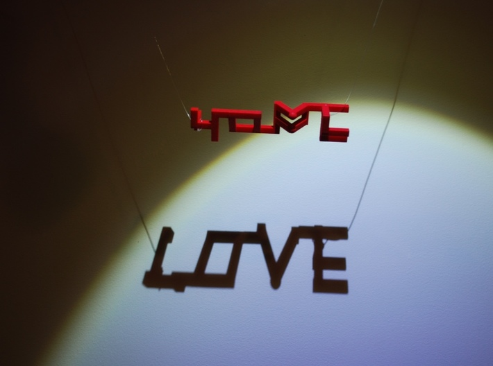 Hope and Love 3d printed Love!