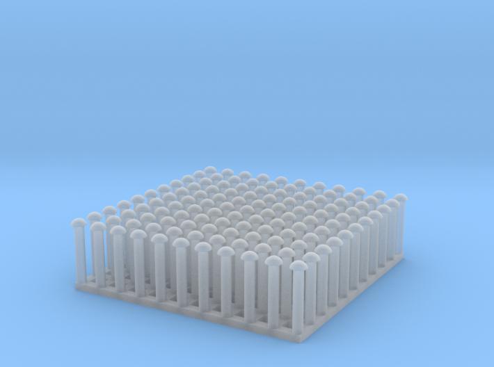 "1:24 Round Rivet Set (Size: 0.875"") 3d printed"