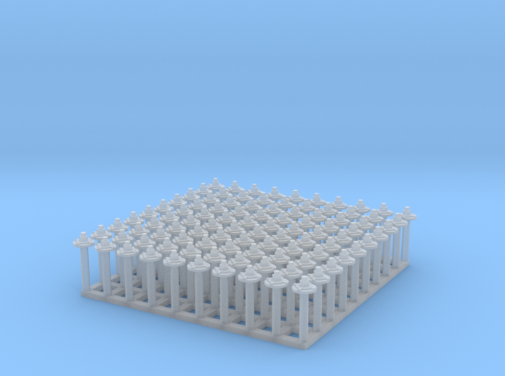 "1:24 Nut-Bolt-Timber Washer Set (Size: 0.625"") 3d printed"