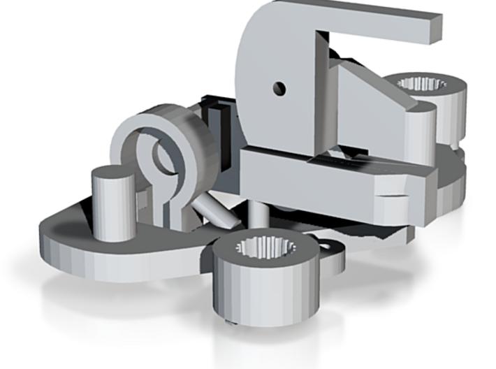 RobotServo3 7g--446-.testSTL-add Test Horns&new Ar 3d printed