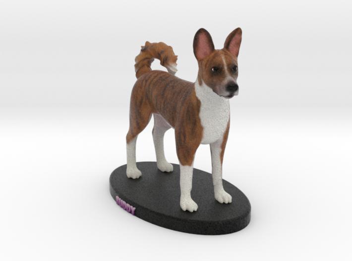 Custom Dog Figurine - Buddy 3d printed