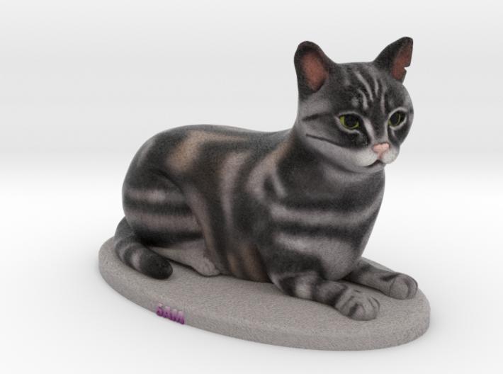 Custom Cat Figurine - Sam 3d printed