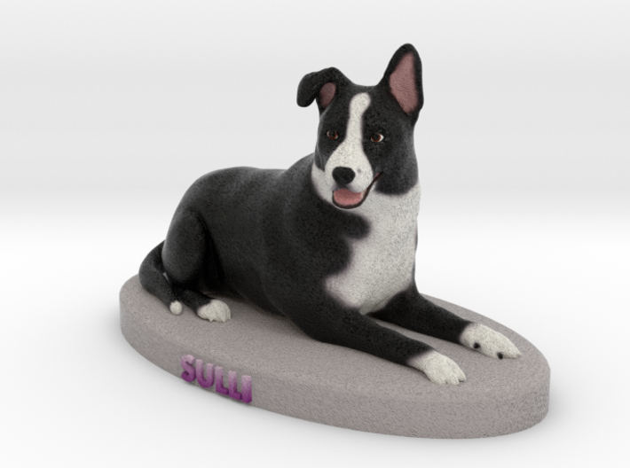 Custom Dog Figurine - Sulli 3d printed