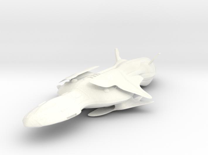 Sea Class Cruiser 3d printed