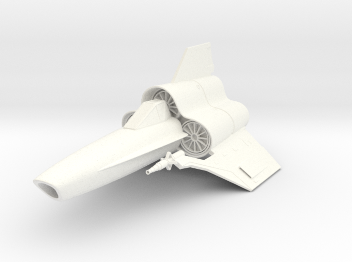 Viper MK-IV Fighter 3d printed