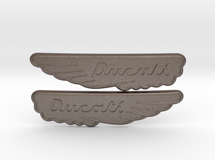 Ducati Scrambler Tank Badge 3d printed