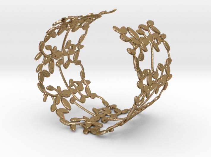 Leaves Bracelet 3d printed