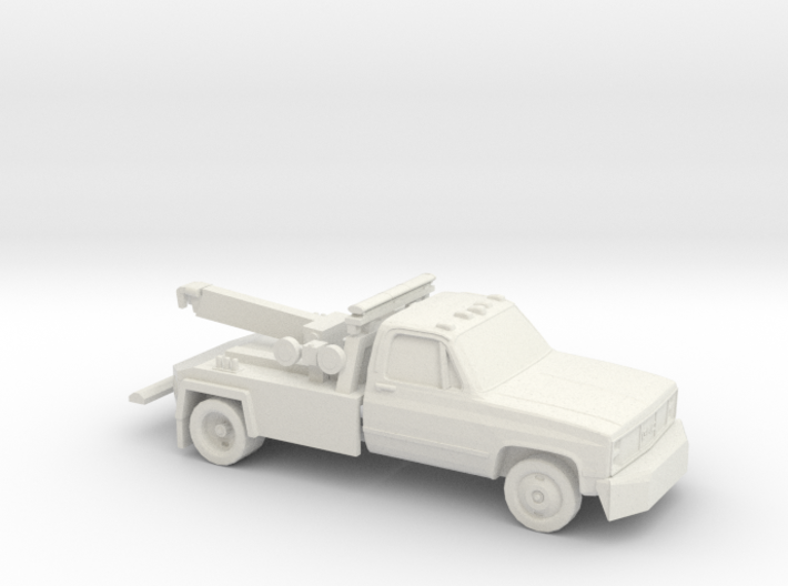 1/87 1982 GMC Tow Truck 3d printed