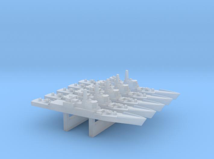 CGN-42 x 5, 1/6000 3d printed