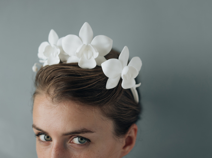 Orchid Crown 3d printed