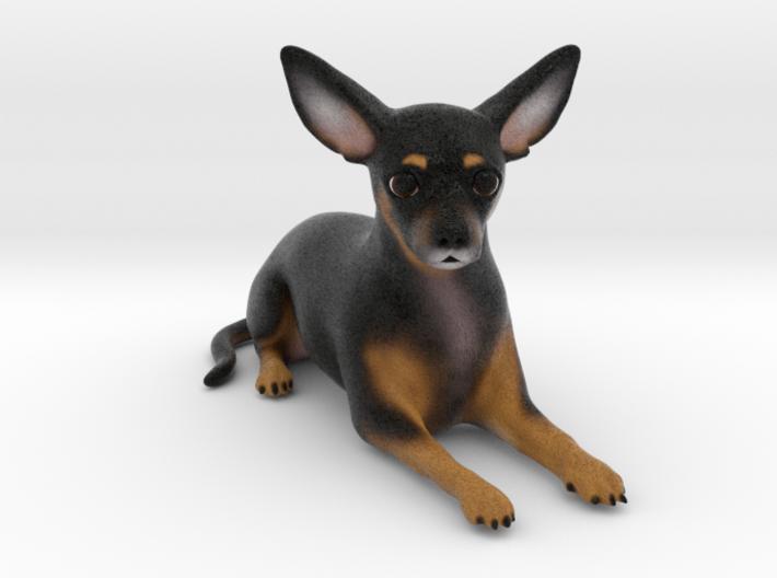 Custom Dog Figurine - Douche 3d printed