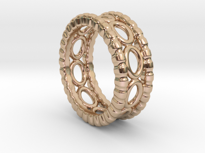 Ring Ring 18 - Italian Size 18 3d printed