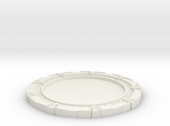Stargate Coasters v2 3d printed