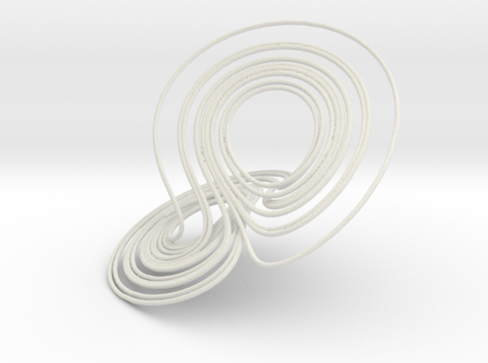 Lorenz Attractor, large 3d printed