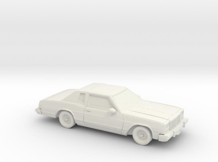 1/87 1978 Buick Riviera 3d printed
