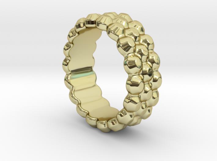Chocolat Ring 25 - Italian Size 25 3d printed