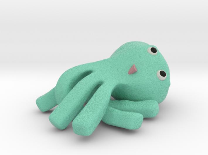 cheeky kraken relaxed sandstone 3d printed