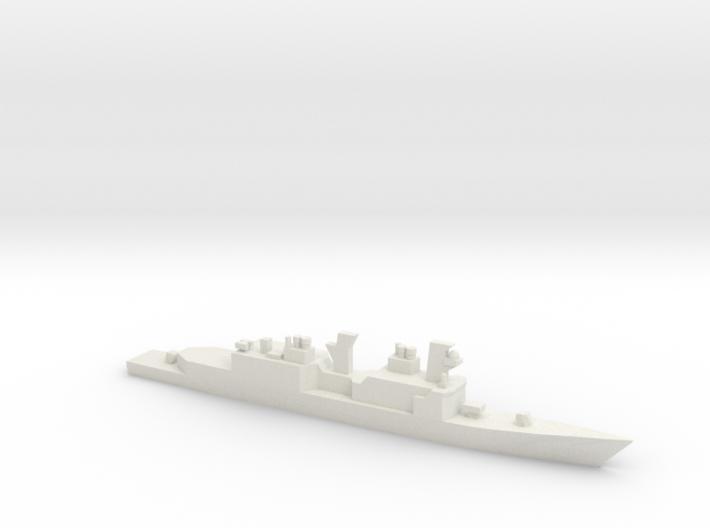 USS Hayler, Original Plan, 1/2400 3d printed
