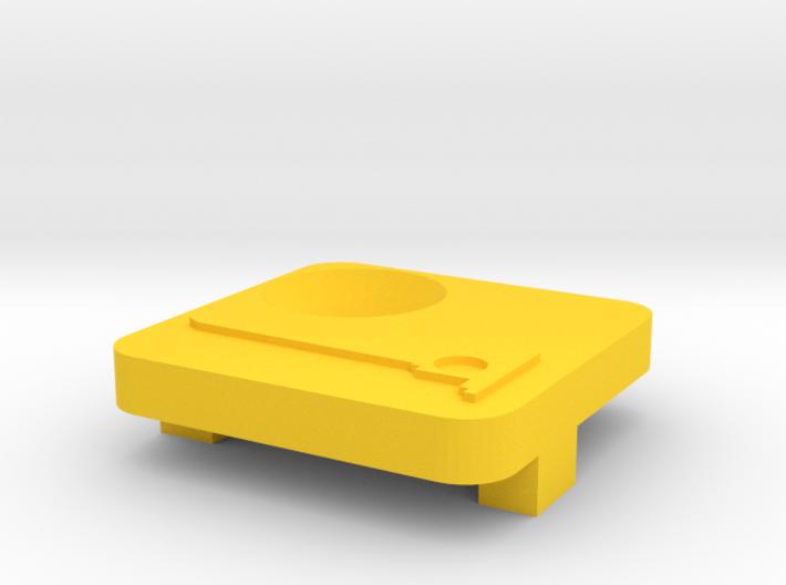 MTB High Mount Cover Countersunk V4.0. Baarn De Na 3d printed