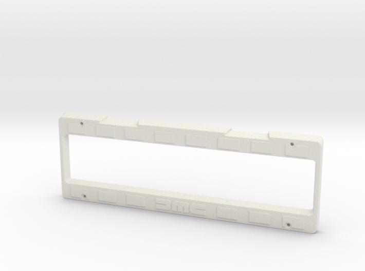 Delorean Licence Plate Holder 3d printed