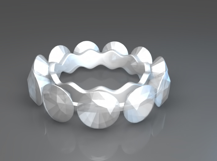 Diamonds are a girl's best friend 3d printed