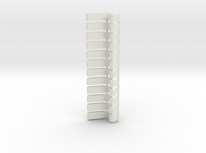 Light Strip Gridwall Brackets (12) 3d printed