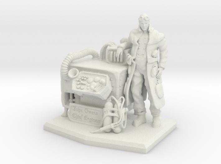 Chief Engineer 3d printed
