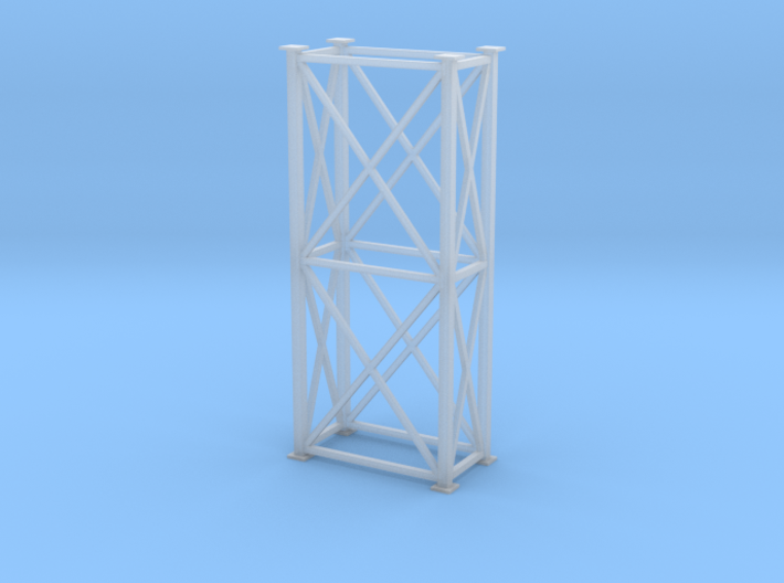 'S Scale' - 4 Ft x 8 Ft x 20 Ft Tower 3d printed