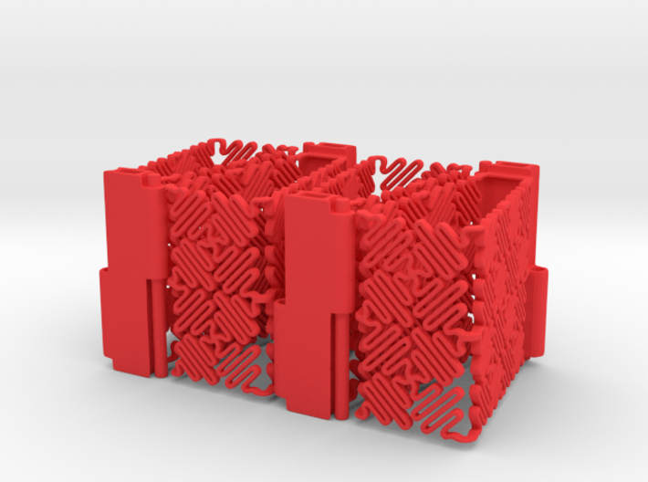 Ruff Style 1 (Four Segments) 3d printed