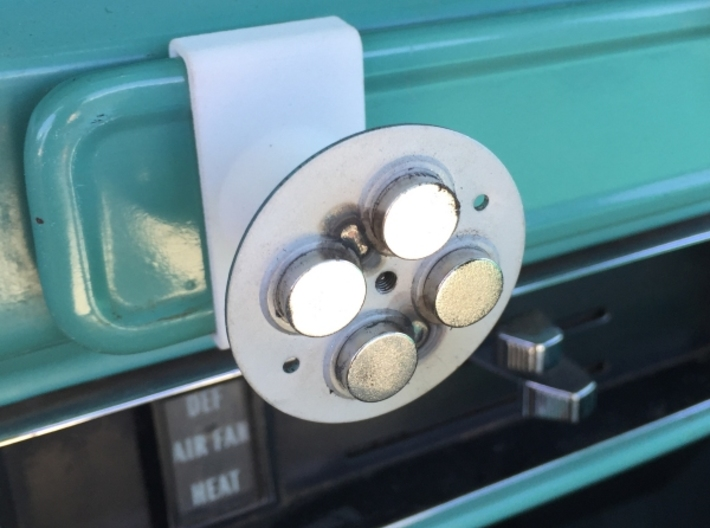 Ash Tray Clip Phone Mount for 67-72 Chevy Truck 3d printed