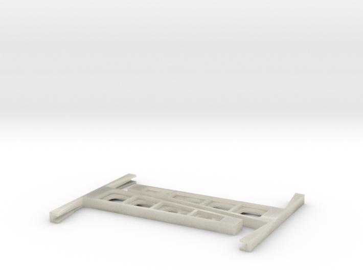 Glass rack 1:50 3d printed