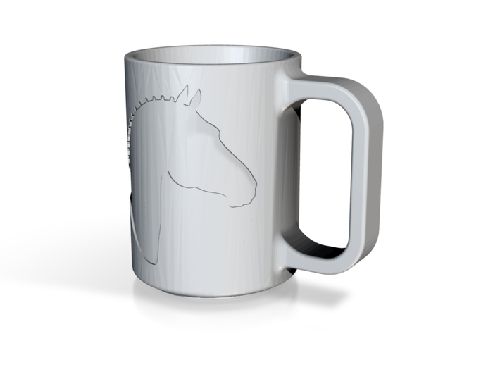 Branded Coffee Mug (TheMarketingsmith) 3d printed